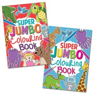 Artbox Children's A4 Super Jumbo Colouring Book, 180 Pages