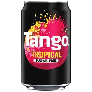 Tango Tropical Sugar Free Can - 330ml