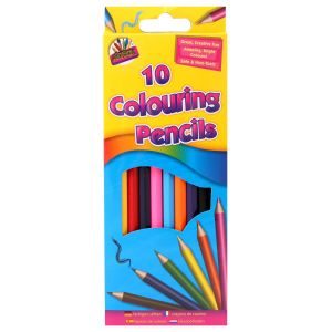 Artbox Children's Full Length Colouring Pencils - Pack of 10