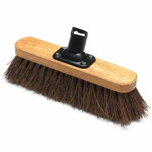 Addis 275mm Bassine Fill Stiff Outdoor Varnished Broom Head