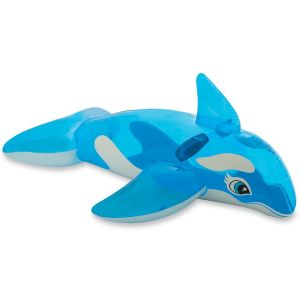 Intex Lil' Whale Transparent Inflatable Pool Ride On