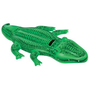 Intex Lil' Gator Alligator Inflatable Pool Ride On, 66 x 34 Inch
