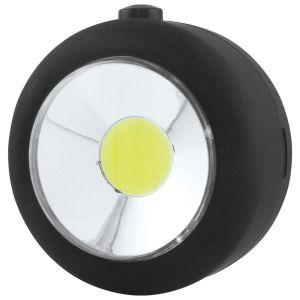 Uni-Com 3 Watt COB LED Utility Light with Hook and Magnet, Black