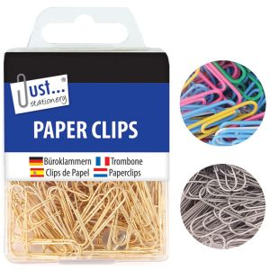 Just Stationery Paper Clips - Pack of 120