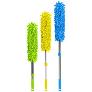 Bettina Chenille Duster with Extendable Handle, Multi
