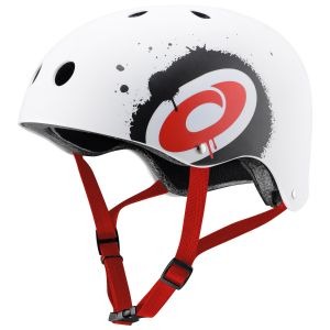 Osprey Skate BMX Cycle Safety Helmet, White