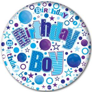 Simon Elvin Birthday Boy Jumbo Badge, 15cm
