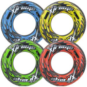 Bestway 36 Inch Xtreme Inflatable Rubber Ring Turbo Tube
