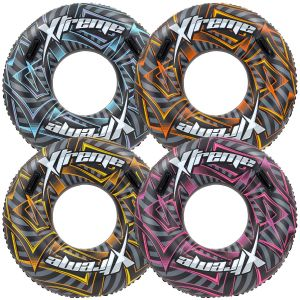 Bestway 42 Inch Xtreme Inflatable Rubber Ring Turbo Tube