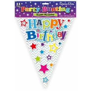 Simon Elvin Happy Birthday Foil Party Bunting - Male