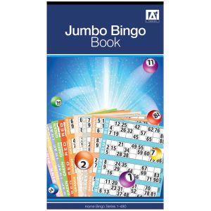 A Star Jumbo Bingo Ticket Book, 480 Tickets