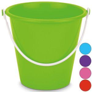 Yello Large 8 Inch Neon Round Beach Bucket