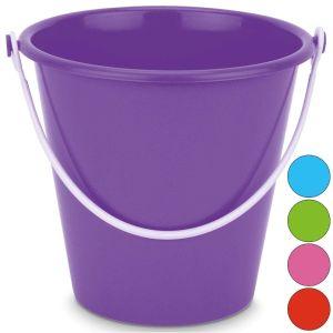 Yello Medium 7 Inch Neon Round Beach Bucket