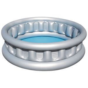 Bestway Space Ship Inflatable Paddling Pool, 60 x 17 Inch - Silver
