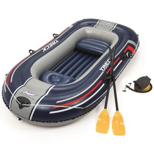 Bestway Hydro-Force Treck X2 Inflatable Raft Set, 100 x 50 Inch