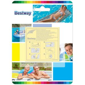Bestway Heavy Duty Adhesive Inflatable Repair Patches - Pack of 10