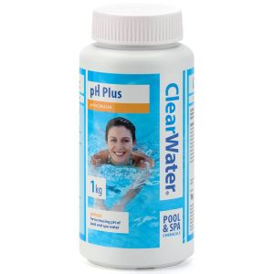 Clearwater pH Plus Increaser for Pools & Spas - 1kg