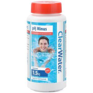 Clearwater pH Minus Decreaser for Pools & Spas - 1.5kg