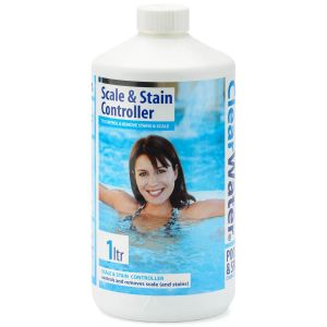 Clearwater Scale & Stain Remover for Pools & Spas - 1 Litre