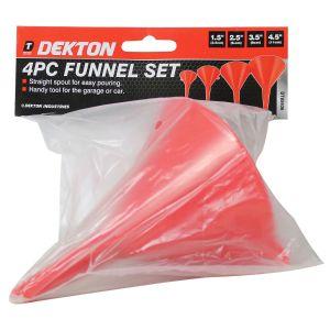 Dekton 4 Piece Multi-Purpose Funnel Set