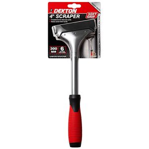 Dekton 4 Inch Soft Grip Heavy Duty Scraper