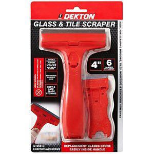 Dekton 2 Piece Glass and Tile Scraper Set