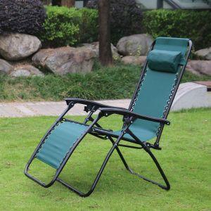 Redwood Leisure Textilene Reclining Gravity Chair - Green