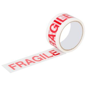 A Star Fragile Printed Adhesive Parcel Tape, 48mm x 40m