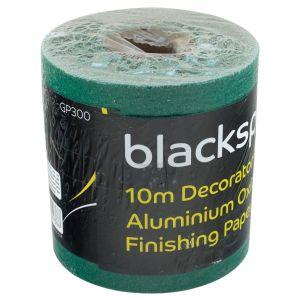 Blackspur Aluminium Oxide 60 Grit Coarse Sanding Paper Roll, 115mm x 10m