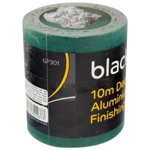 Blackspur Aluminium Oxide 80 Grit Medium Sanding Paper Roll, 115mm x 10m