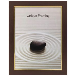HHJ Trading Classic Mahogany Effect Easy Photo Frame