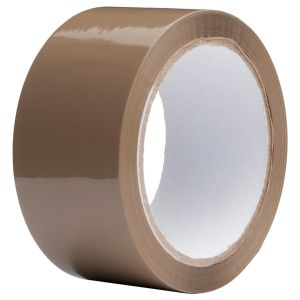 Ultratape Brown Buff Packing Tape, 48mm x 66m