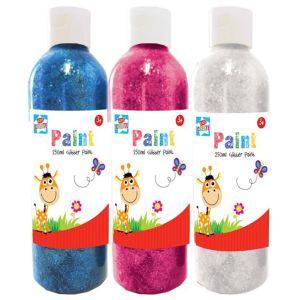 Kids Create Craft Glitter Paint, 250ml