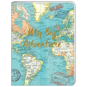 Robert Frederick Vintage Map A5 Soft Cover Notebook