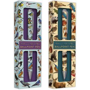 Robert Frederick Patricia MacCarthy Birds or Wildlife Ballpoint Pen in Gift Box