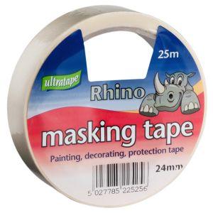 Ultratape Rhino Masking Tape, 24mm x 25m