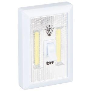 Kingavon 2 Watt COB LED Utility Light Switch - White