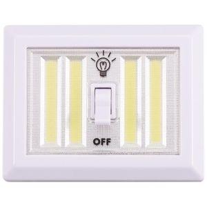 Kingavon 4 Watt COB LED Switched Utility Light, White