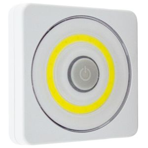 Kingavon 3 Watt 360° COB LED Utility Wardrobe Light - White