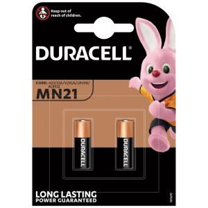Duracell Alkaline MN21 Batteries - Pack of 2