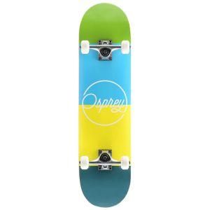 Osprey Blocks Double Kick Tail Skateboard - Multi