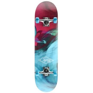 Osprey Emulsion Double Kick Tail Skateboard - Multi