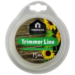 Shedmates Grass Trimmer Line, 1.25mm x 15m