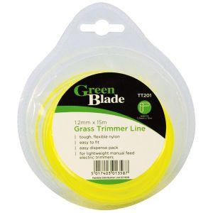 Green Blade Grass Trimmer Line, 1.2mm x 15m