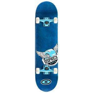 Osprey Pride Double Kick Tail Skateboard - Blue, 31 Inch