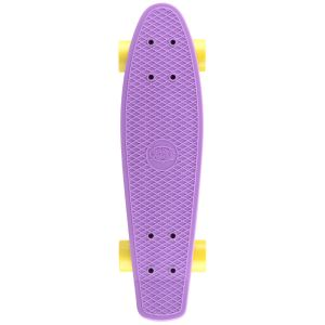 Xootz Retro Plastic Skateboard - Purple, 22 Inch