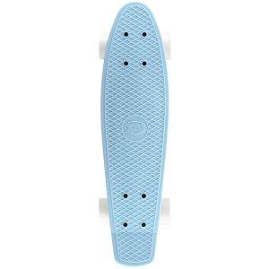 Xootz Retro Plastic Skateboard - Pastel Blue