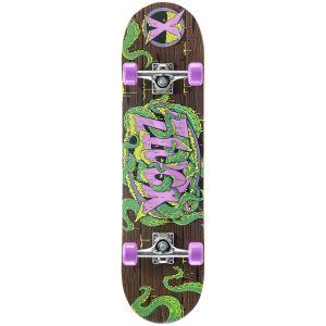Xootz Tentacle Double Kick Tail Skateboard - Multi