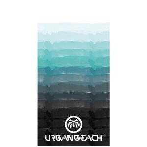 Urban Beach Paradise 100% Cotton Beach Towel, 152 x 76 cm - Multi