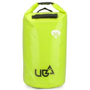 Urban Beach 30 Litre Waterproof Barrel Dry Bag with Rucksack Straps - Yellow